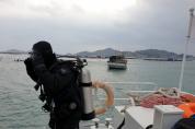 목포해경, 흑산도 해상 부유물 감긴 10톤급 도선 '긴급구조'