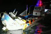 신안군 압해대교 교각에 선박 충돌발생…1명 사망